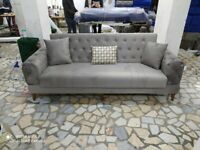 DECOR YOUR LIVING ROOM WITH **BRAND NEW CHESTERFIELD SOFA COUCH BED.