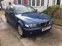 2003 Bmw 318 - runs and drives spares or repairs