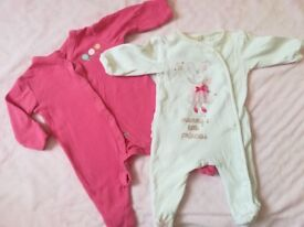 Baby grows, pack of 2