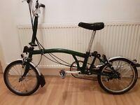 Used Brompton H3L Folding Bike