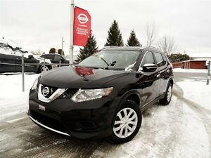 2015 Nissan Rogue S + JAMAIS ACCIDENTÉ + AWD + GARANTIE + 42 822