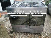 New world double oven 90cm