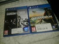 Ps4 games tom clancy