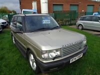 LAND ROVER RANGE ROVER 4.6 LIMITED EDITION AUTOMATIC (LPG GAS CONVERSION)