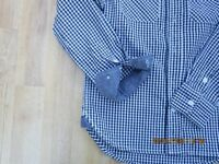Boys shirt age 8-9 by Cherokee, in blue gingham, super condition, all buttons etc. intact