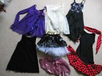 Dance Costumes/Tutu's - Only Used 2/3 in Dance Shows - Stunning Selection Available - All Ages
