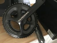Shimano Ultegra 36-52 Crank set nearly new