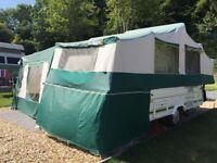 Pennine Pullman 535 6 berth folding camper 2003