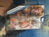 wwe ultimate warrior tnf figure new very rare with belt