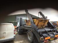 Skip Lorry iveco 18 ton