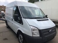 FORD TRANSIT MWB HIGH ROOF YEAR 2012 LONG MOT CLEAN IN AND OUT VERY LOW MILEAGE NO VAT