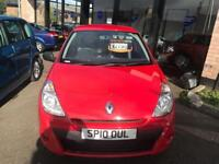 RENAULT CLIO 1.1 EXTREME 3d 74 BHP (red) 2010