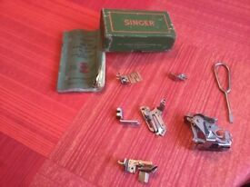 Vintage attachments for Singer sewing machine