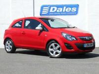 Vauxhall Corsa 1.0 Ecoflex Sting 3Dr [ac] Hatchback (flame red) 2014