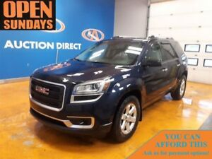 2015 GMC Acadia SLE1 8 PASSENGER! AWD! FINANCE NOW!