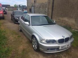 BMW 3 series's mspec 03 model face lift
