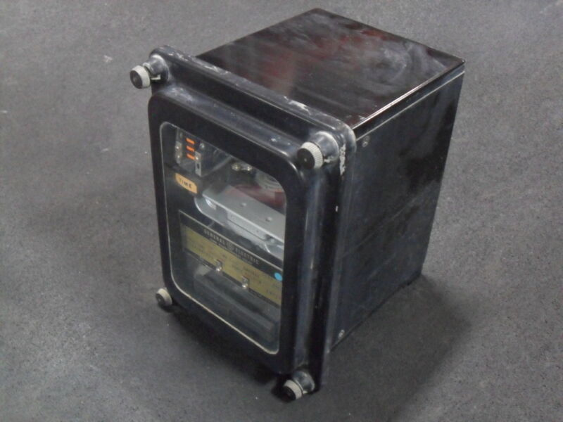USED General Electric 12IAC57A3A Time Overcurrent Relay Special