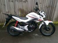 2015 honda cbf 125 still in warranty