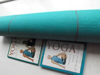 Simply Yoga DVD and Book – plus good quality yoga mat
