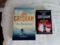 JOHN GRISHAM NOVELS (BOOKS) FOR SALE