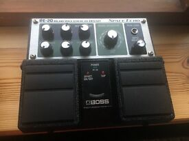 Boss RE 20 Space Echo Delay Pedal