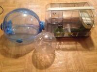 Used hamster cage 25$