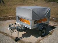 ERDE 102.2 CLASSIC CAMPING TRAILER WITH ACCESSORIES