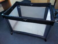 Used children, baby kid foldable travel bed cot from Mothercare