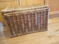 Large wicker trunk.great condition.
