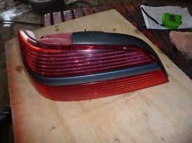 nearside rear light for peugeot 406 mk2