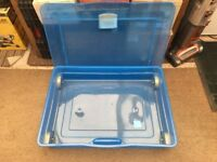 Large Under Bed Storage Boxes - containers - Plastic on wheels - top opening