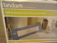 Children's bed rail - Lindam - REDUCED - safety barrier in bed Boxed with instructions