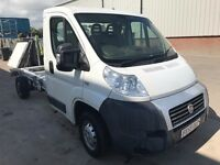 FIAT DUCATO CHASSIS CAB 2.2M-JET , 59REG SPARES OR REPAIRS FOR SALE