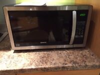 Kenwood 25L Stainless Steel Microwave K25SS11 - PICK UP ONLY - MUST GO NOW