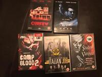 DVD bundle horror/thriller