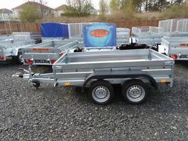 New trailer 8.2 x 4.3 with braked trailer 2700kg £ 1600 INC VAT
