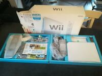 BNIB Vintage 2008 Nintendo Wii Console White with Wii Sports Game PAL UK