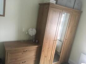 Full bedroom furniture set - wardrobe etc
