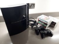 PS3 Console with 13 Games