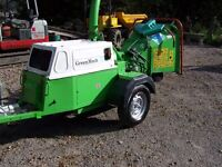 Wood chipper Green Mech fast tow wood chipper EC16-28MT 35D