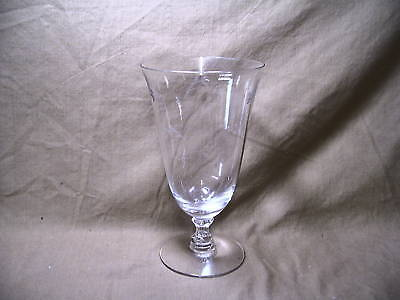 Duncan & Miller Crystal Petite Pattern Iced Tea Goblet