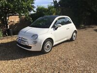 2013 (63 plate) Fiat 500 RHD Lounge - £30 Road Tax - One Lady Owner