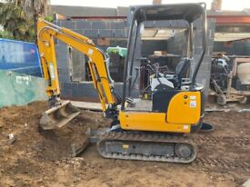 Digger Hire Available With or Without Operator | Mini Digger 1.6 ton | Plant Hire | Norwich