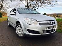 IDEAL FAMILY CAR!!2008!VAUXHALL ASTRA 1.6 LIFE 5DOOR LONG MOT