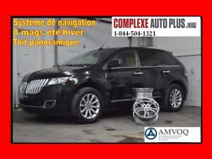 2011 Lincoln MKX Limited *Navi/GPS,Toit Pano, 8 mags