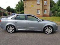 2005 Audi A4 2.0 TFSI S line CVT 4dr Automatic @07445775115