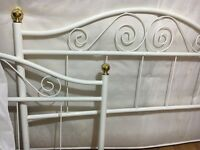 DOUBLE BED FRAME. STANDARD SIZE . GOOD QUALITY