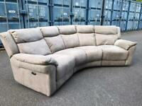 Electric recliner sofa approx 3 meters long very good condition Possible Delivery