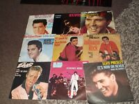 elvis lps and singles