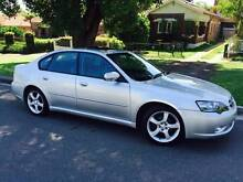 2005 Subaru Liberty Sports Luxury Sunroof Leather LONG REGO AWD. Meadowbank Ryde Area Preview